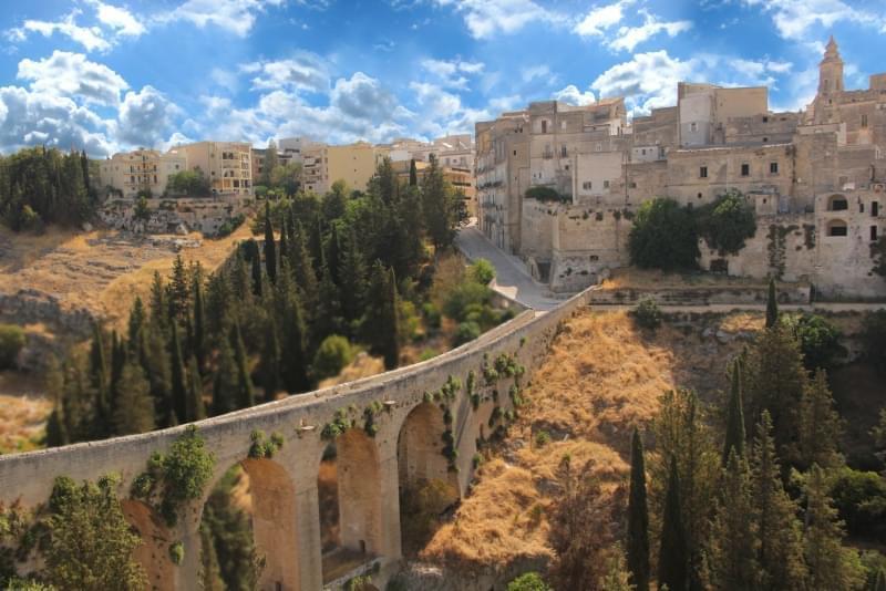 Gravina in Puglia e il Parco nazionale dell'Alta Murgia